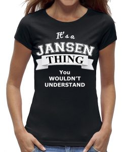 Shirt zwart dames jansen thing