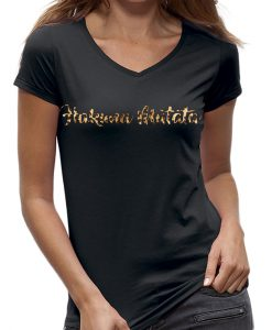Hakuna matata dames t-shirt panter luipaard