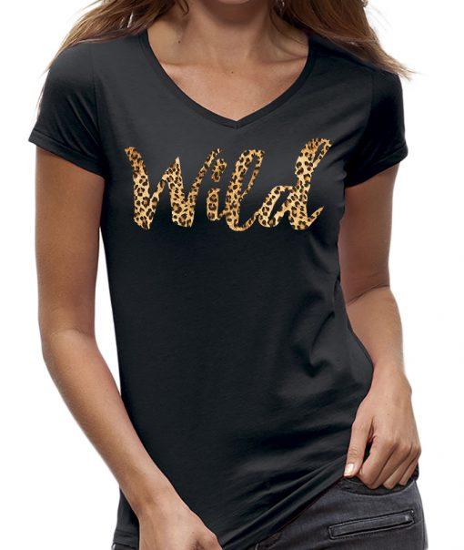 t-shirt wild panterprint