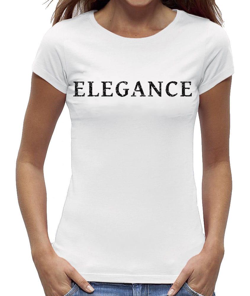 Glitter T Elegance Zwart Shirt Dames dtwqUax