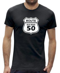 Abraham t-shirt route 50 jaar