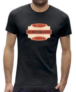 American vintage mannen t-shirt