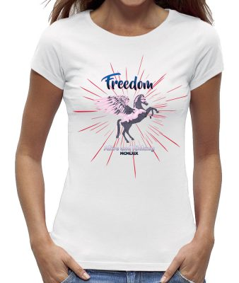 Freedom - alive and kicking t-shirt