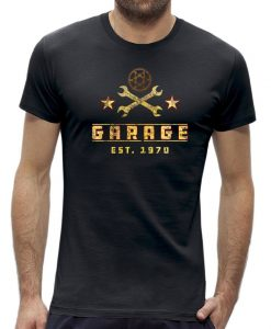Garage - monteur t-shirt mannen - heren