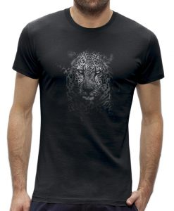 panter t-shirt mannen - heren