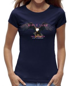 Eagle t-shirts dames girls adelaar blauw marine