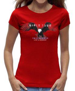 Eagle shirt rood grijs