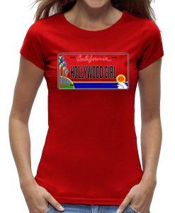 T-shirt Hollywood California