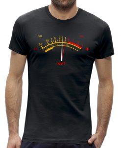 VU meter t-shirt