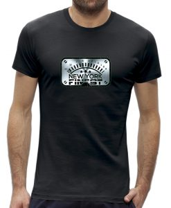 Vu Metert-shirt metal look