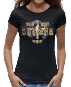 arizona wild west t-shirt dames