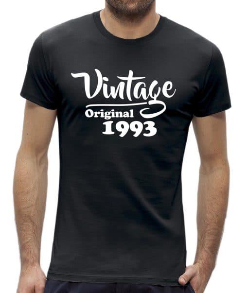 30 jaar t-shirt man vintage verjaardag