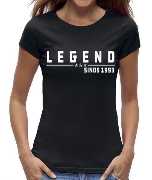 30 jaar t-shirt vrouw legend verjaardag