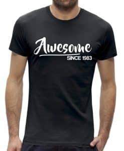 40 jaar t-shirt man verjaardag awesome