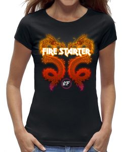 Draak dragon firestarter t-shirt dames