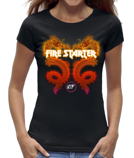 Draak dragon firestarter t-shirt dames