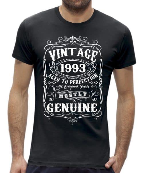Perfection 30 jaar verjaardag t-shirt man
