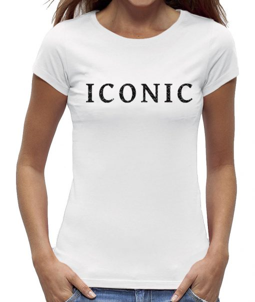T-shirt iconic wit dames