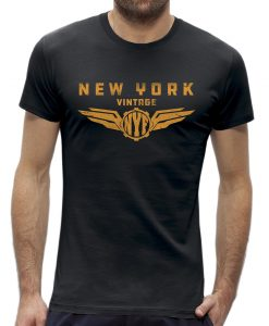 T-shirt New York vintage wings