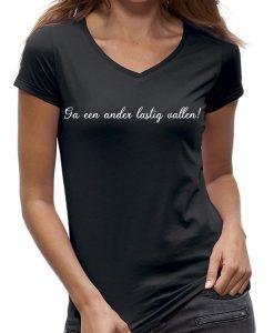 Ga een ander lastig vallen meiland t-shirt