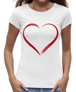 Hart voor de zorg t-shirt