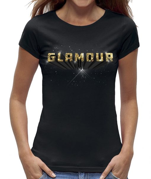 Glamour t-shirt dames