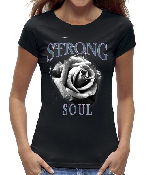 Roos t-shirt strong soul