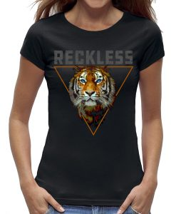 Reckless tijger t-shirt