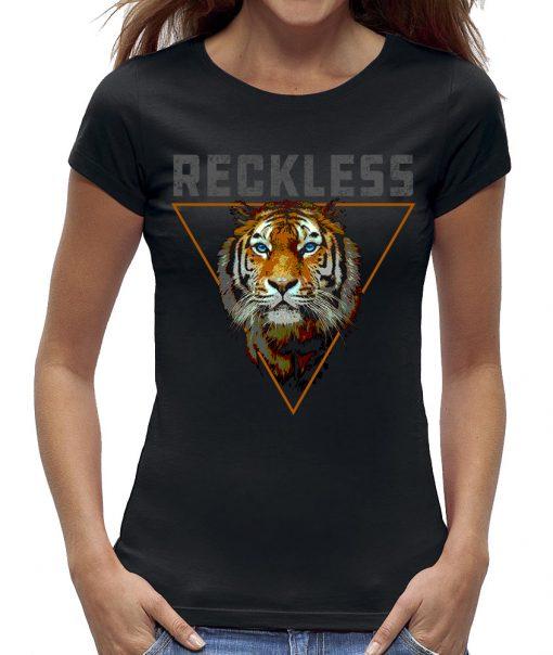 Reckless tijger t-shirt