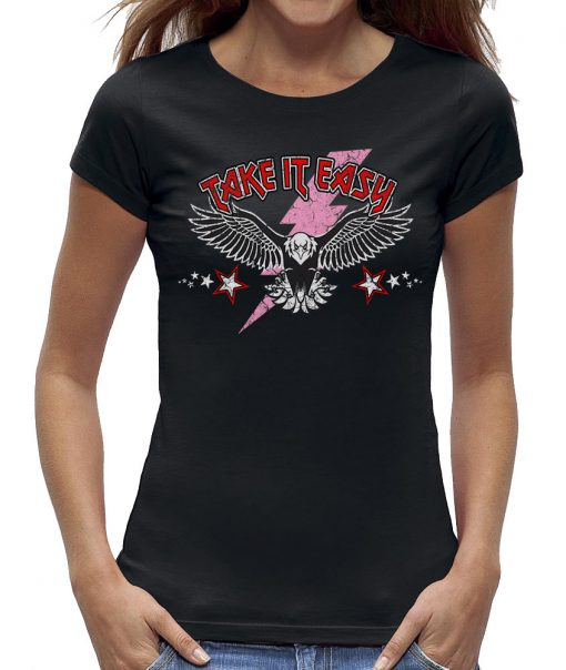 Eagle take it easy t-shirt