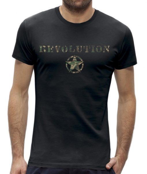 Revolution army T-shirt camouflage