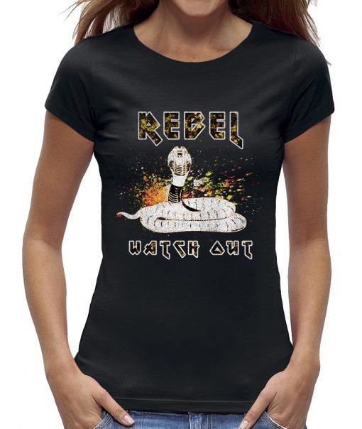 Watch out Cobra t-shirt dames