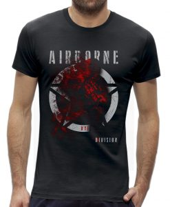 Soldaat Airborne division NYF New York finest t-shirt
